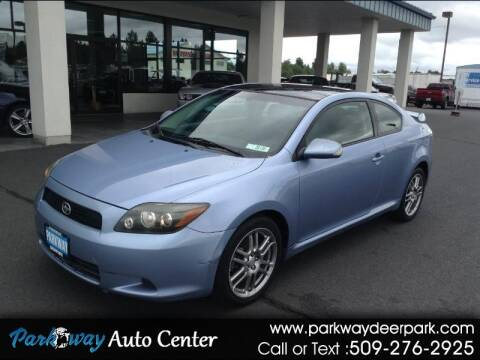 2008 Scion tC for sale at PARKWAY AUTO CENTER AND RV in Deer Park WA