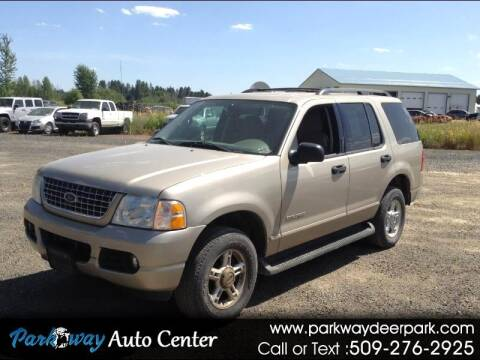 2004 Ford Explorer for sale at PARKWAY AUTO CENTER AND RV in Deer Park WA