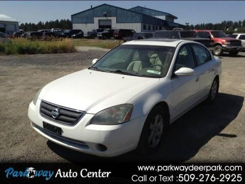 2002 Nissan Altima for sale at PARKWAY AUTO CENTER AND RV in Deer Park WA