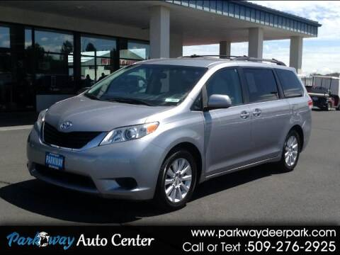 2011 Toyota Sienna for sale at PARKWAY AUTO CENTER AND RV in Deer Park WA