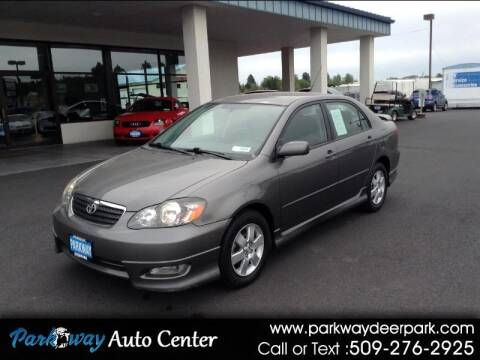 2006 Toyota Corolla for sale at PARKWAY AUTO CENTER AND RV in Deer Park WA