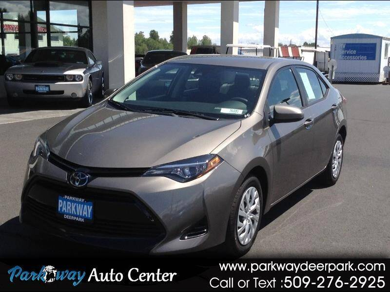 2018 Toyota Corolla for sale at PARKWAY AUTO CENTER AND RV in Deer Park WA