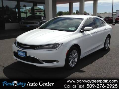 2016 Chrysler 200 for sale at PARKWAY AUTO CENTER AND RV in Deer Park WA