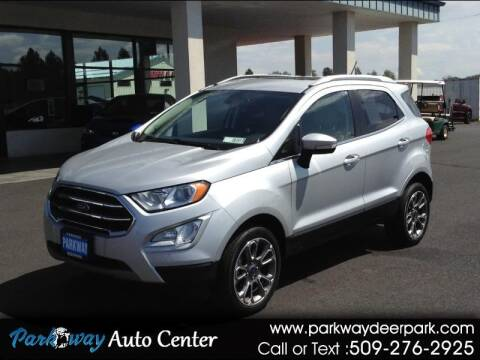 2019 Ford EcoSport for sale at PARKWAY AUTO CENTER AND RV in Deer Park WA