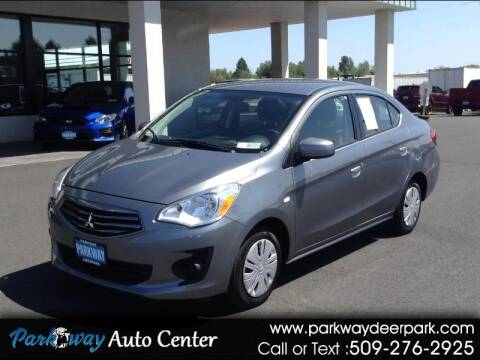 2019 Mitsubishi Mirage G4 for sale at PARKWAY AUTO CENTER AND RV in Deer Park WA