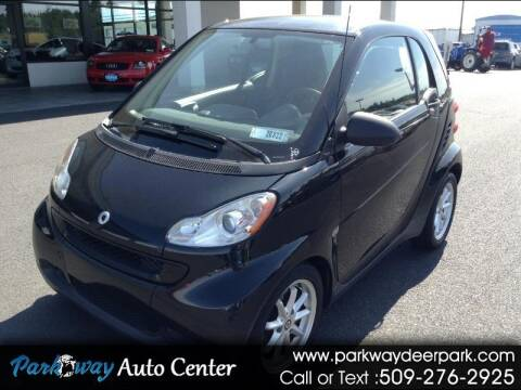 2009 Smart fortwo for sale at PARKWAY AUTO CENTER AND RV in Deer Park WA