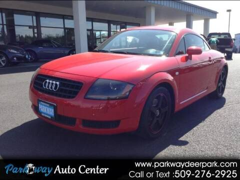 2006 Audi TT for sale at PARKWAY AUTO CENTER AND RV in Deer Park WA