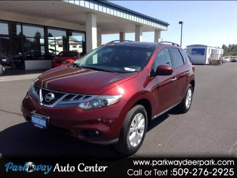 2011 Nissan Murano for sale at PARKWAY AUTO CENTER AND RV in Deer Park WA