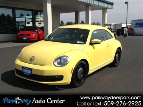 2013 Volkswagen Beetle for sale at PARKWAY AUTO CENTER AND RV in Deer Park WA