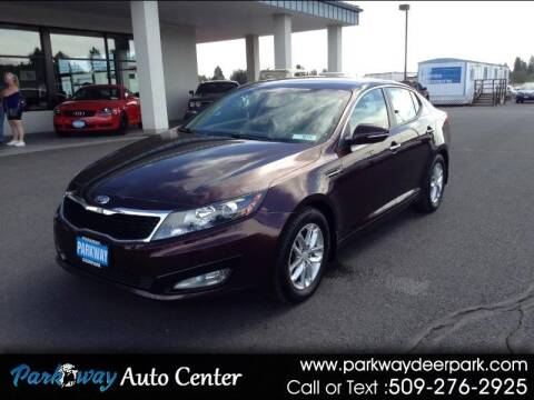 2013 Kia Optima for sale at PARKWAY AUTO CENTER AND RV in Deer Park WA