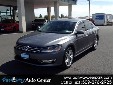 2014 Volkswagen Passat for sale at PARKWAY AUTO CENTER AND RV in Deer Park WA