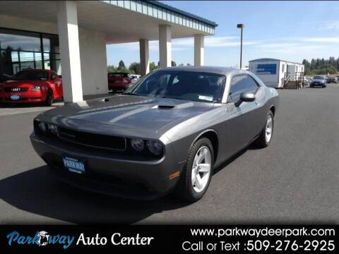 2012 Dodge Challenger for sale at PARKWAY AUTO CENTER AND RV in Deer Park WA