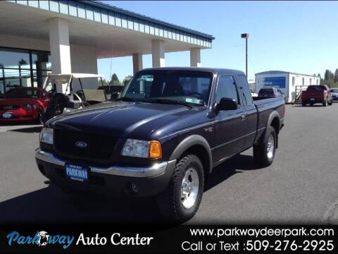 2001 Ford Ranger for sale at PARKWAY AUTO CENTER AND RV in Deer Park WA