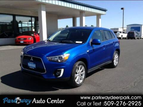 2015 Mitsubishi Outlander Sport for sale at PARKWAY AUTO CENTER AND RV in Deer Park WA