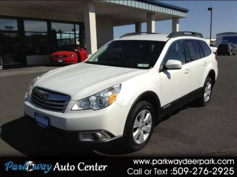 2011 Subaru Outback for sale at PARKWAY AUTO CENTER AND RV in Deer Park WA