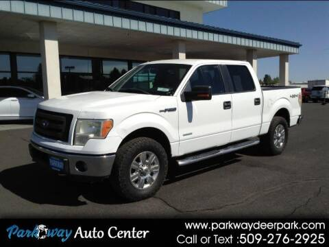 2011 Ford F-150 for sale at PARKWAY AUTO CENTER AND RV in Deer Park WA