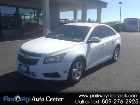 2013 Chevrolet Cruze for sale at PARKWAY AUTO CENTER AND RV in Deer Park WA