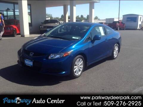 2012 Honda Civic for sale at PARKWAY AUTO CENTER AND RV in Deer Park WA
