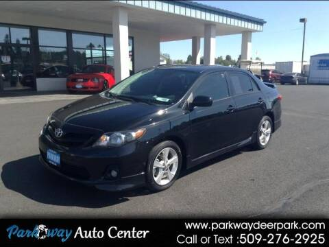 2012 Toyota Corolla for sale at PARKWAY AUTO CENTER AND RV in Deer Park WA