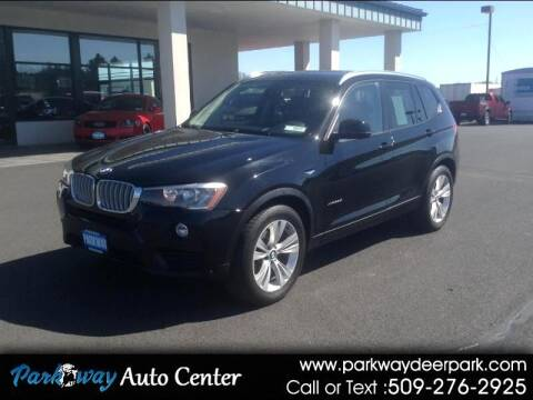 2015 BMW X3 for sale at PARKWAY AUTO CENTER AND RV in Deer Park WA