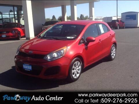 2013 Kia Rio 5-Door for sale at PARKWAY AUTO CENTER AND RV in Deer Park WA