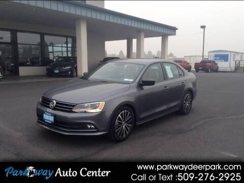 2016 Volkswagen Jetta for sale at PARKWAY AUTO CENTER AND RV in Deer Park WA