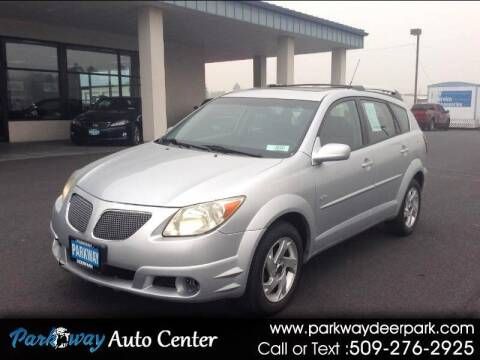 2005 Pontiac Vibe for sale at PARKWAY AUTO CENTER AND RV in Deer Park WA