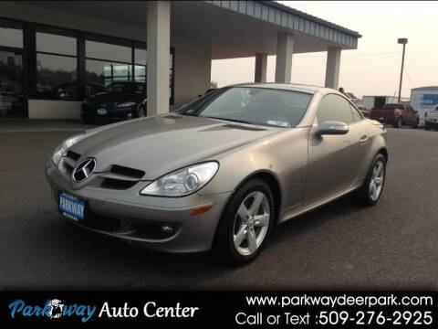 2006 Mercedes-Benz SLK for sale at PARKWAY AUTO CENTER AND RV in Deer Park WA