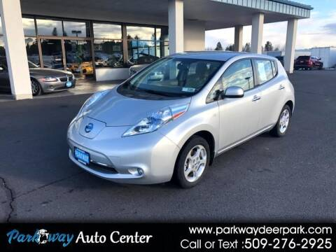 2011 Nissan LEAF for sale at PARKWAY AUTO CENTER AND RV in Deer Park WA