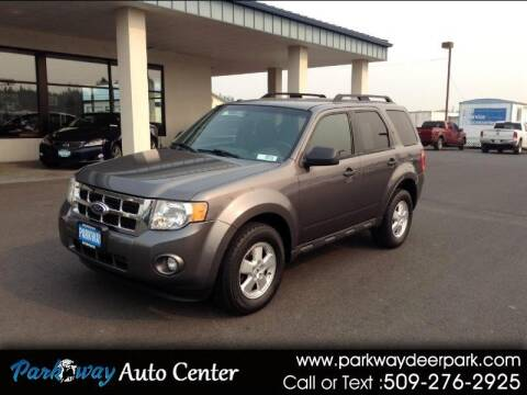 2010 Ford Escape for sale at PARKWAY AUTO CENTER AND RV in Deer Park WA