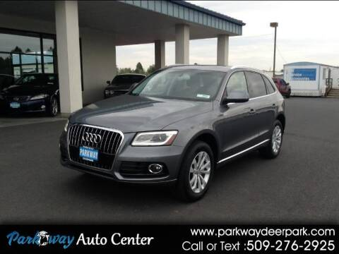 2013 Audi Q5 for sale at PARKWAY AUTO CENTER AND RV in Deer Park WA