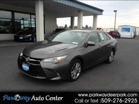 2015 Toyota Camry for sale at PARKWAY AUTO CENTER AND RV in Deer Park WA