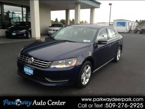 2013 Volkswagen Passat for sale at PARKWAY AUTO CENTER AND RV in Deer Park WA