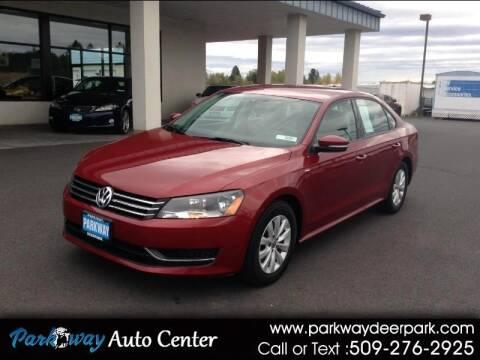 2015 Volkswagen Passat for sale at PARKWAY AUTO CENTER AND RV in Deer Park WA
