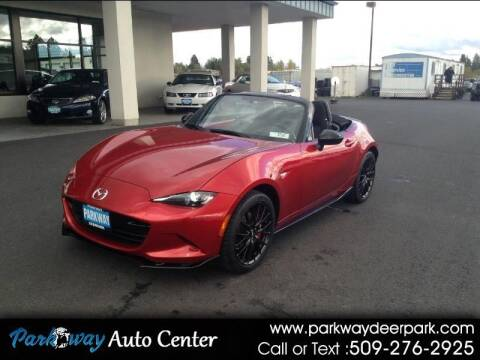 2017 Mazda MX-5 Miata for sale at PARKWAY AUTO CENTER AND RV in Deer Park WA