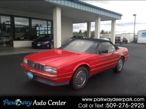 1991 Cadillac Allante for sale at PARKWAY AUTO CENTER AND RV in Deer Park WA