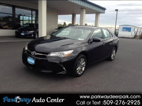 2017 Toyota Camry for sale at PARKWAY AUTO CENTER AND RV in Deer Park WA