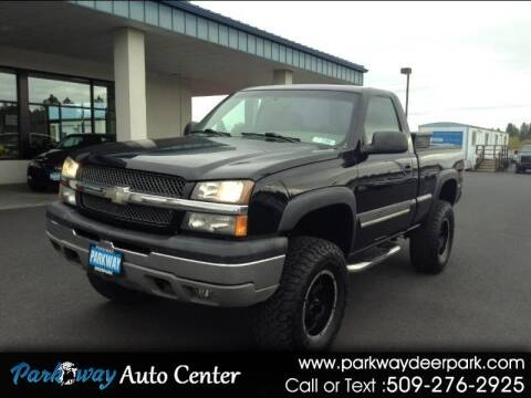 2004 Chevrolet Silverado 1500 for sale at PARKWAY AUTO CENTER AND RV in Deer Park WA