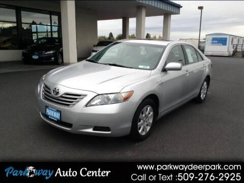 2007 Toyota Camry Hybrid for sale at PARKWAY AUTO CENTER AND RV in Deer Park WA