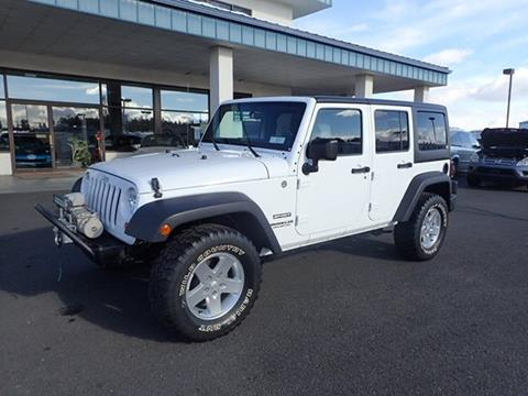 2011 Jeep Wrangler Unlimited for sale in Deer Park, WA