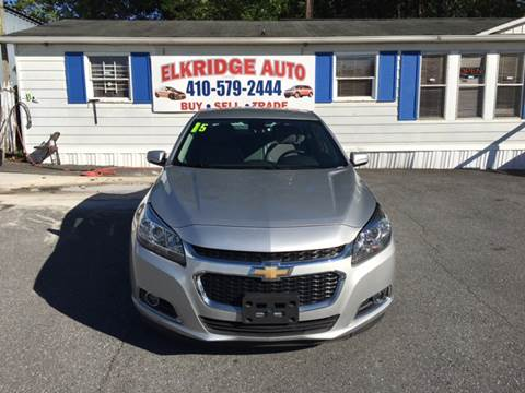 2015 Chevrolet Malibu for sale in Elkridge MD