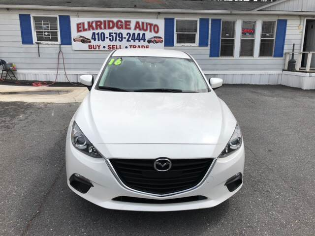 2016 mazda mazda3 i sport 4dr sedan 6a in elkridge md elkridge auto. Black Bedroom Furniture Sets. Home Design Ideas