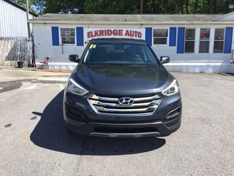 2015 Hyundai Santa Fe Sport for sale in Elkridge MD