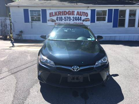 2016 Toyota Camry for sale in Elkridge, MD