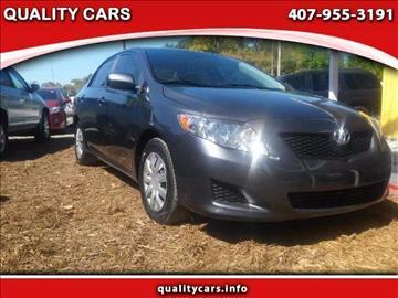 2010 Toyota Corolla for sale in Orlando, FL