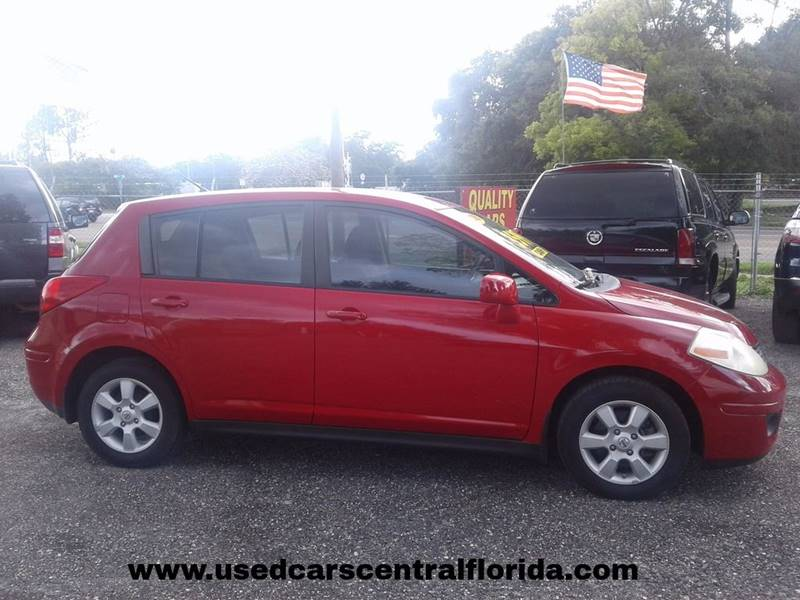 2008 Nissan Versa 1.8 SL 4dr Hatchback CVT - Orlando FL