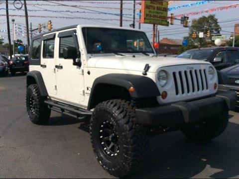 2007 Jeep Wrangler Unlimited for sale in Hatboro, PA