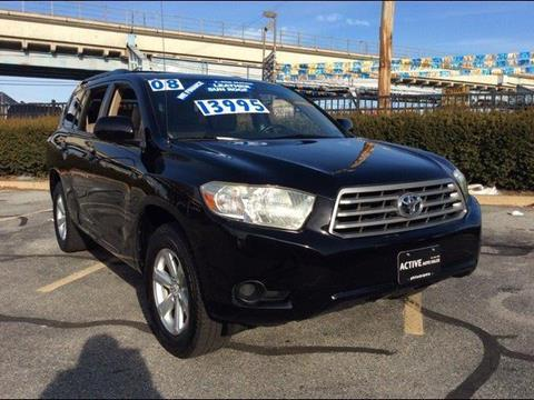 2008 Toyota Highlander for sale in Hatboro, PA