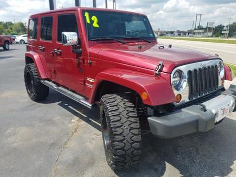 2012 Jeep Wrangler Unlimited for sale in Saint Robert MO