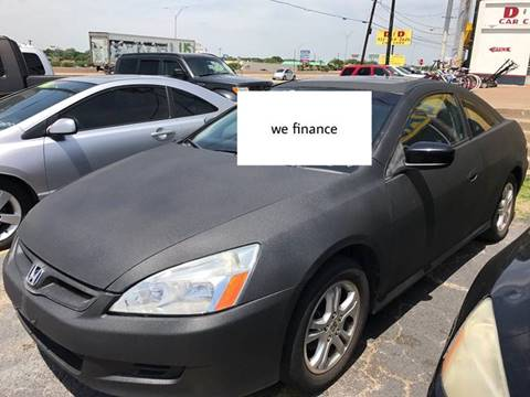 2006 Honda Accord for sale in Lancaster TX